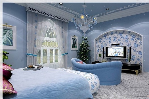 احدث ديكورات غرف النوم للعرسان لعام 2013