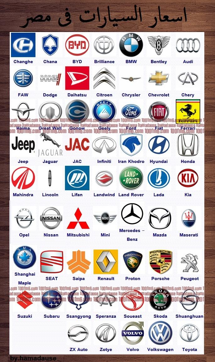 اسعار السيارات في مصر